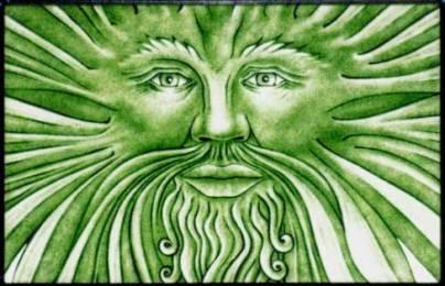 beltane green man