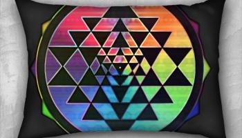 sri yantra rainbow